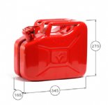 Fuel Jerry Can 10LTR